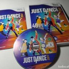 Videojuegos y Consolas: JUST DANCE 2017 (NINTENDO WII - WII U - PAL - ESPAÑA). Lote 217995417