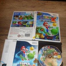 Videojuegos y Consolas: NINTENDO WII SUPER MARIO GALAXY 2 PAL ESP COMPLETO. Lote 218004556