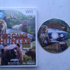 Videojuegos y Consolas: CABELA'S BIG GAME HUNTER 2012 NINTENDO WII COMPATIBLE WII ZAPPER KREATEN. Lote 218024215