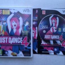 Videojuegos y Consolas: JUST DANCE 4 NINTENDO WII KREATEN. Lote 218033910