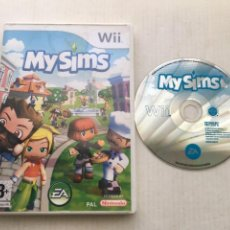 Videojuegos y Consolas: MY SIMS 1 EANINTENDO WII KREATEN. Lote 218034820