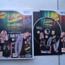 Videojuegos y Consolas: 40 PRINCIPALES KAROKE PARTY 1 HAPPY WIIU NINTENDO WII KREATEN. Lote 218035738