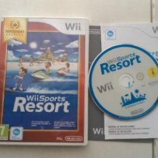 Videojuegos y Consolas: WII SPORTS RESORT SELECTS 12 DEPORTES NINTENDO WII KREATEN SPORT RESORTS. Lote 218035998