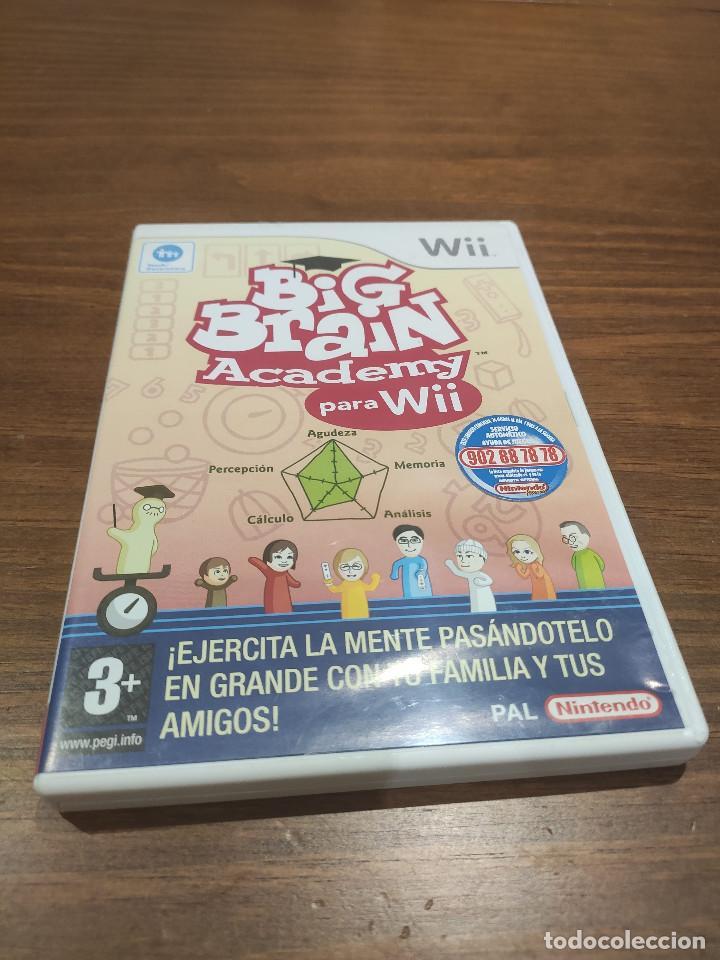 BIG BRAIN ACADEMY PARA WII (Juguetes - Videojuegos y Consolas - Nintendo - Wii)