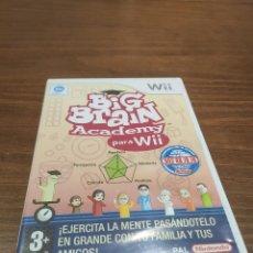 Videojuegos y Consolas: BIG BRAIN ACADEMY PARA WII. Lote 218204500