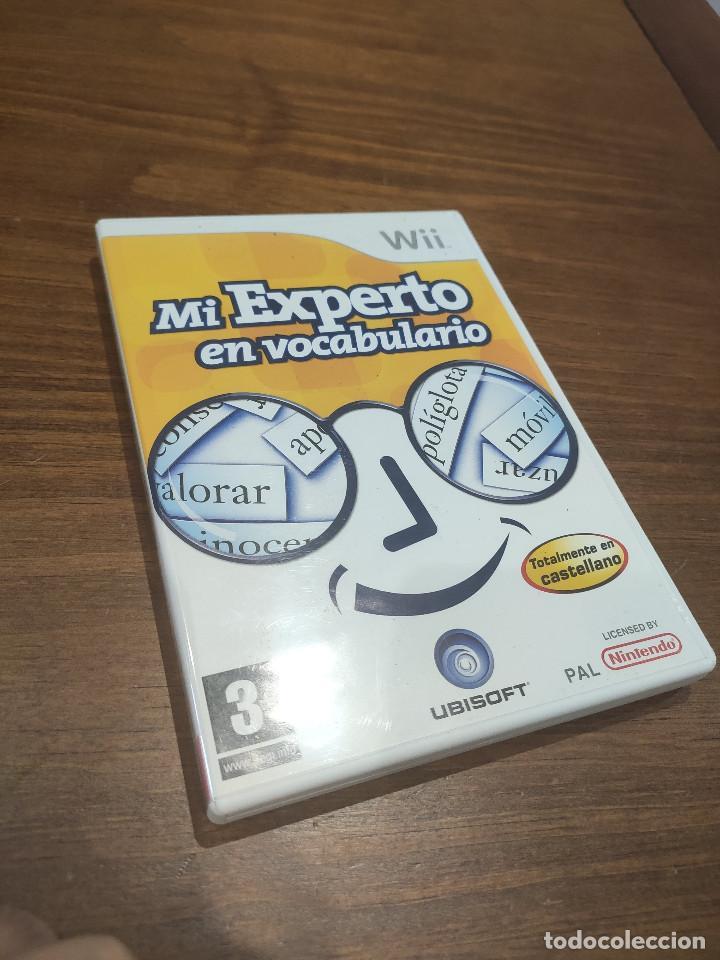 MI EXPERTO EN VOCABULARIO WII (Juguetes - Videojuegos y Consolas - Nintendo - Wii)