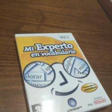 Videojuegos y Consolas: MI EXPERTO EN VOCABULARIO WII. Lote 218204790