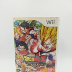 Videojuegos y Consolas: DRAGONBALL Z BUDOKAI TENKAICHI 3 NINTENDO WII. Lote 218502083