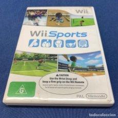 Videojuegos y Consolas: VIDEOJUEGO NINTENDO WII - WII SPORTS + CAJA + INSTRUCCIONES - EUR. Lote 218819007