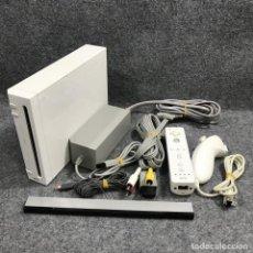 Videojuegos y Consolas: CONSOLA NINTENDO WII BLANCA+MOTE+NUNCHUCK+AV+AC+IR. Lote 219189037