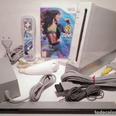 Videojuegos y Consolas: NINTENDO WII BLANCA. Lote 219219296