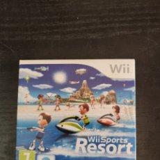 Videojuegos y Consolas: WII SPORTS RESORT JUEGO WII. Lote 219270450