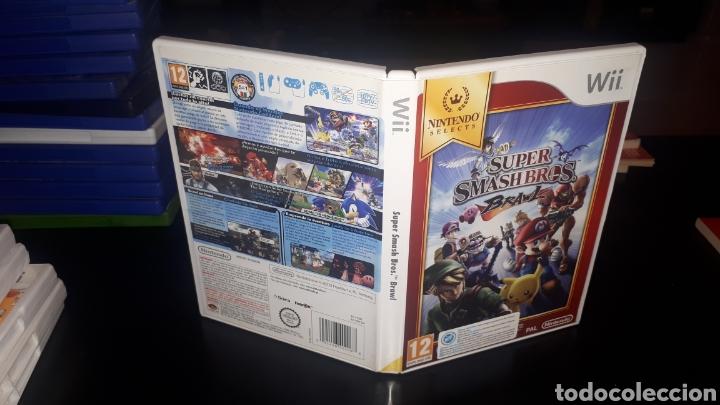 JUEGO SUPER SMASH BROS PARA WII COMPLETO (Juguetes - Videojuegos y Consolas - Nintendo - Wii)