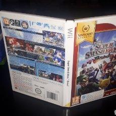 Videojuegos y Consolas: JUEGO SUPER SMASH BROS PARA WII COMPLETO. Lote 219359696