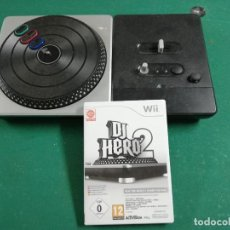 Videojuegos y Consolas: VIDEOJUEGO DJ HERO 2 PARA WII CON MESA MEZCLAS. Lote 261680355