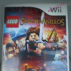 Videogiochi e Consoli: LEGO : EL SEÑOR DE LOS ANILLOS PARA NINTENDO WII, PAL. Lote 219709485