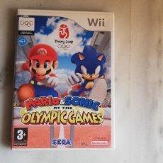 Videojuegos y Consolas: JUEGO NINTENDO WII MARIO & SONIC OLÍMPIC GAMES. Lote 220810587