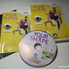Videojuegos y Consolas: YOUR SHAPE ( SIN LA CAMARA) ( NINTENDO WII - WII U - PAL - ESP). Lote 221151923