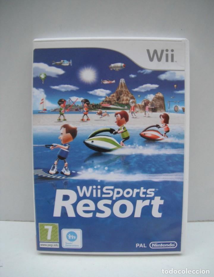 JUEGO WII SPORTS RESORT (Juguetes - Videojuegos y Consolas - Nintendo - Wii)