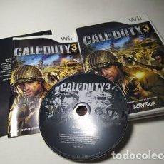 Videojuegos y Consolas: CALL OF DUTY 3 ( NINTENDO WII - WII U - PAL - ESP). Lote 221603376