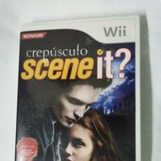 Videojuegos y Consolas: CREPÚSCULO SCENE IT? WII. Lote 222277320