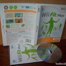 Videojuegos y Consolas: WII FIT PLUS - CONSOLA WII PAL NINTENDO COMPLETO - JUEGO COMO NUEVO. Lote 222313945