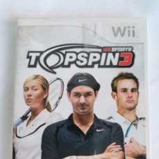 Videojuegos y Consolas: 2KSPORTS TOPSPIN3 WII TENIS. Lote 222328277