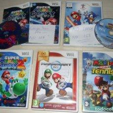 Videojuegos y Consolas: LOTE JUEGOS MARIO NINTENDO WII. Lote 222489327