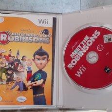 Videojuegos y Consolas: JUEGO WII ,DESCUBRIENDO A LOS ROBINSONS. Lote 222554422