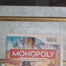 Videojuegos y Consolas: JUEGO DE LA WII, MONOPOLY. Lote 222554688