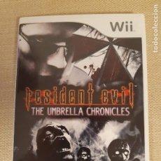 Videojuegos y Consolas: RESIDENT EVIL: UMBRELLA CHRONICLES PARA WII. 2008 PAL ESPAÑA. Lote 222570978