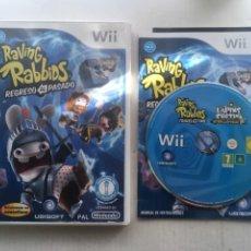 Videojuegos y Consolas: RAVING RABBIDS REGRESO AL PASADO NINTENDO WII KREATEN. Lote 222594060