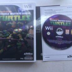 Videojuegos y Consolas: TEENAGE MUTANT NINJA TURTLES TORGUAS TMNT NINTENDO WII KREATEN. Lote 222594405