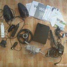 Videojuegos y Consolas: LOTE DE LA WII DE NINTENDO .. TODO LO QUE SE VE EN LA FOTO. Lote 222862977