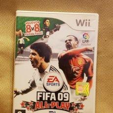 Videojuegos y Consolas: EA SPORT FIFA 09 ALL- PLAY WII. Lote 223019398