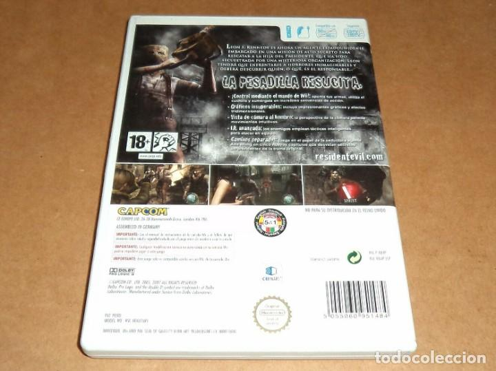 Videojuegos y Consolas: Resident Evil 4 : Wii Edition para Nintendo Wii, Pal - Foto 2 - 223645967