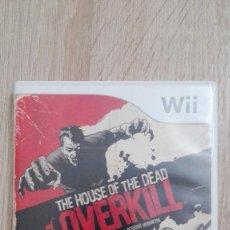 Videojuegos y Consolas: THE HOUSE OF THE DEAD-OVERKILL-NINTENDO WII-PAL-SEGA-AÑO 2009.. Lote 224124282