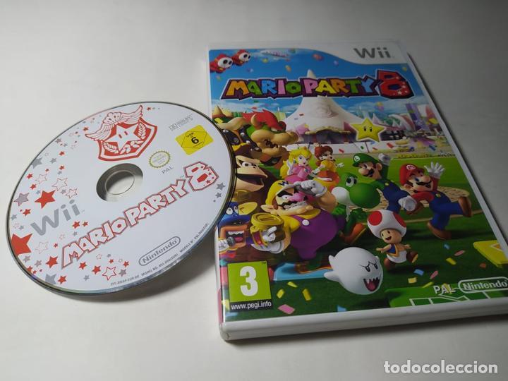 MARIO PARTY 8 ( NINTENDO WII - WII U - PAL - ESPAÑA ) (Juguetes - Videojuegos y Consolas - Nintendo - Wii)