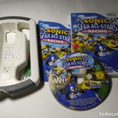 Jeux Vidéo et Consoles: SONIC & SEGA ALL STARS RACING + VOLANTE ( NINTENDO WII - WII U - - PAL - ITALIA ) EN ESPAÑOL. Lote 224313405