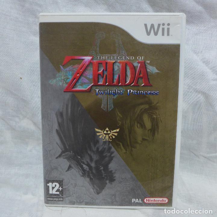 JUEGO PARA NINTENDO WII - THE LEGEND OF ZELDA TWILIGHT PRINCESS (Juguetes - Videojuegos y Consolas - Nintendo - Wii)