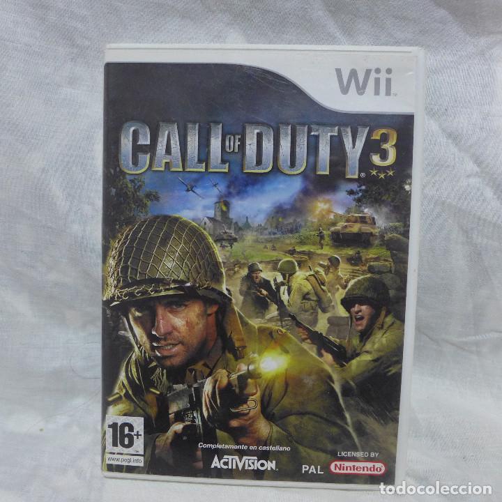 JUEGO PARA NINTENDO WII - CALL OF DUTY 3 (Juguetes - Videojuegos y Consolas - Nintendo - Wii)