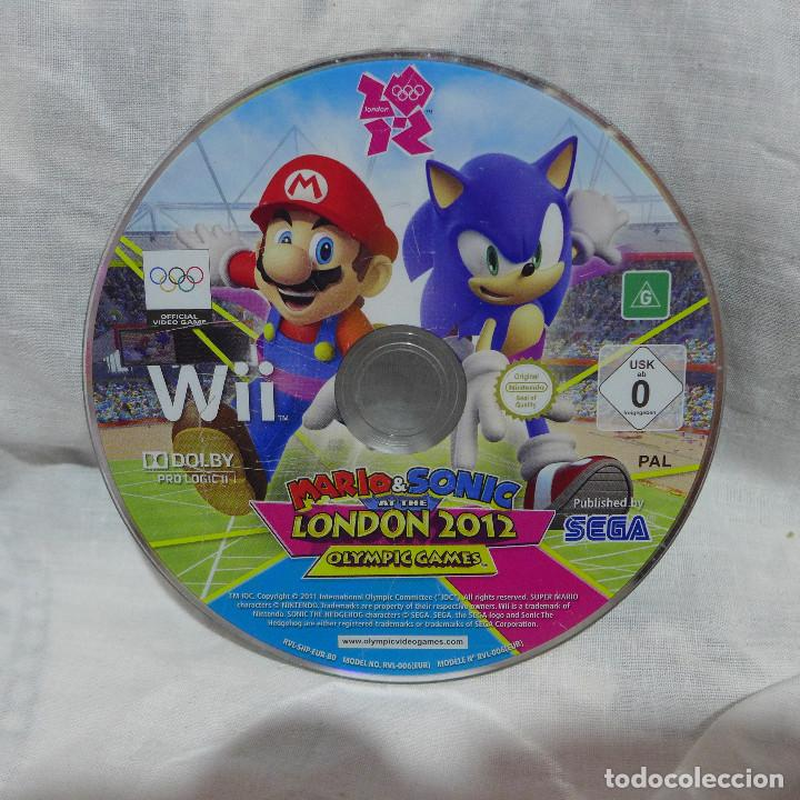 Videojuegos y Consolas: JUEGO PARA NINTENDO WII - MARIO & SONIC AT THE LONDON 2012 OLYMPIC GAMES - Foto 4 - 224732687
