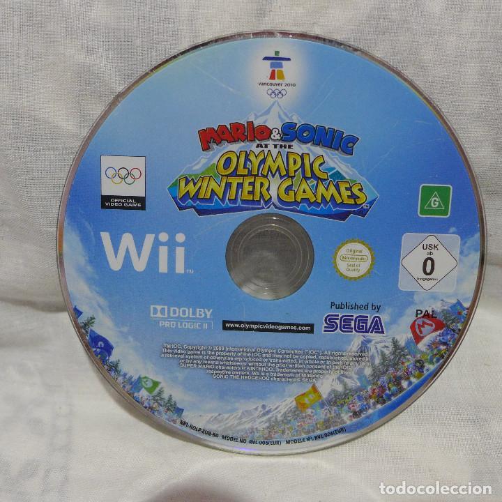 Videojuegos y Consolas: JUEGO PARA NINTENDO WII - MARIO & SONIC AT THE OLYMPIC WINTER GAMES - Foto 4 - 224732957