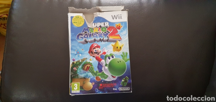WII SUPER MARIO GALAXI 2 CAJA VACÍA (Juguetes - Videojuegos y Consolas - Nintendo - Wii)