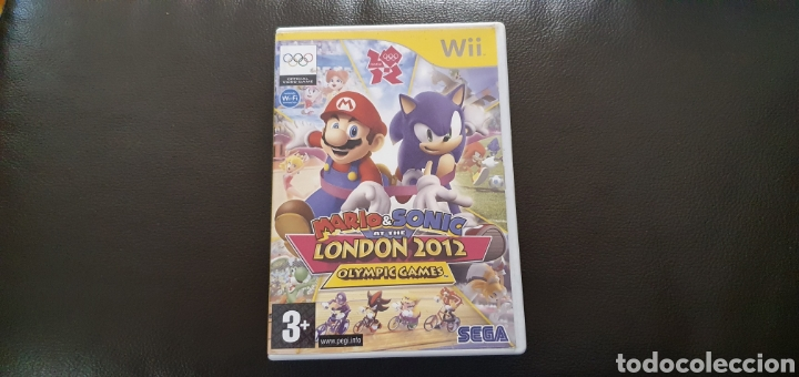 CAJA VACÍA WII MARIO & SONIC AT THE LONDON 2012 OLYMPIC GAMES (Juguetes - Videojuegos y Consolas - Nintendo - Wii)