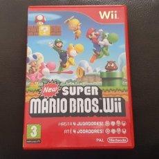 Jeux Vidéo et Consoles: NEW SUPER MARIO BROS WII CAJA VACIA Y MANUALES. Lote 225747330