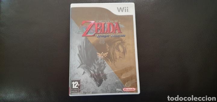 CAJA VACIA Y MANUALES NINTENDO WII THE LEGEND OF ZRKDA TWILIGHT PRINCESS (Juguetes - Videojuegos y Consolas - Nintendo - Wii)