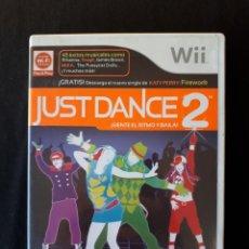 Videojuegos y Consolas: JUST DANCE 2 - NINTENDO WII - PAL - COMPLETO - BAILE - MUSICA. Lote 229307430