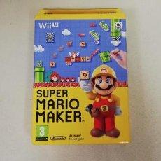 Jeux Vidéo et Consoles: V- SUPER MARIO MAKER WII U JUEGO PRECINTADO + ART BOOK. Lote 229564885
