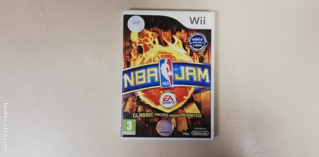 V- NBA JAM EA SPARTOS - WII CON MANUAL (Juguetes - Videojuegos y Consolas - Nintendo - Wii)